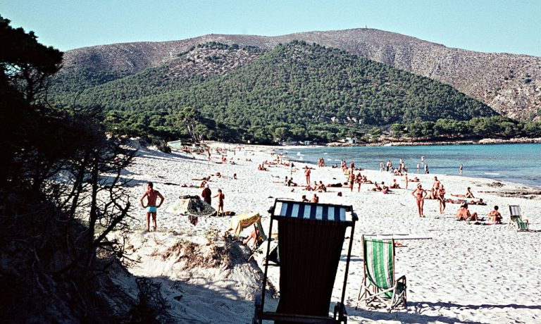 Strandleben 1970