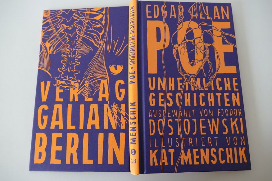 Kat Menschik - Edgar Allan Poe: Unheimliche Geschichten