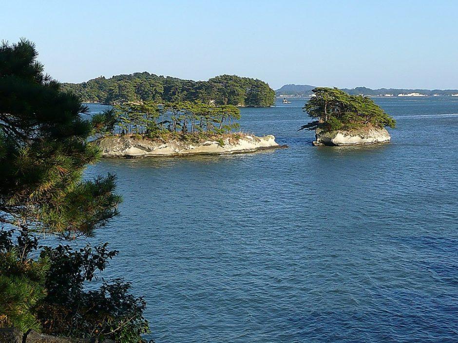 Matsushima_Bay - Die Kieferninseln