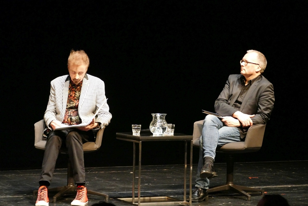 T.C. Boyle und Martin Scholz