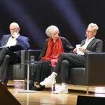 Thomas Böhm, Bärbel Schäfer mit Margaret Atwood