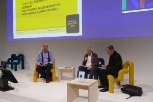 Gespräch Dag Solstad und Hinrich Schmidt-Henkel