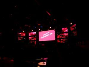 Kiwi-Party im Gibson Ffm zur Feier der neuen Musikbibliothek