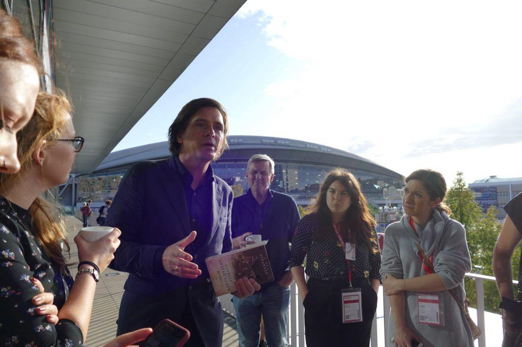 Norwegen-Bloggertreffen Simon Stranger