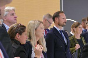 Prinz Haakon von Norwegen auf der Frankfurter Buchmesse 2019