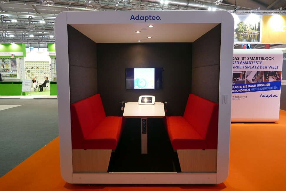 Audiokabine bei Frankfurt Audio