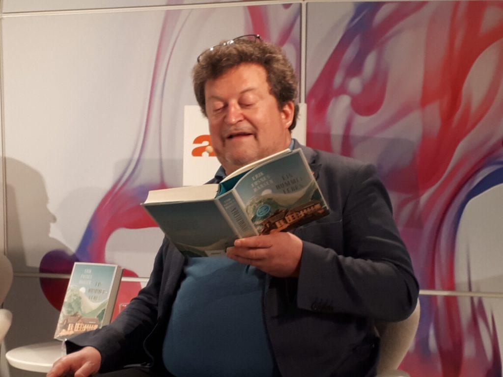Erik Fosnes Hansen liest aus Ein Hummerleben