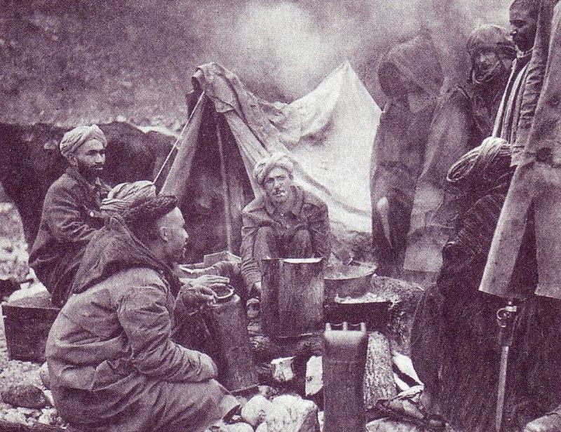 Marokkanische Soldaten