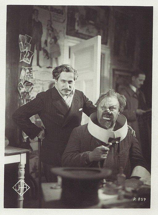 Josef von Sternberg und Emil Jannings