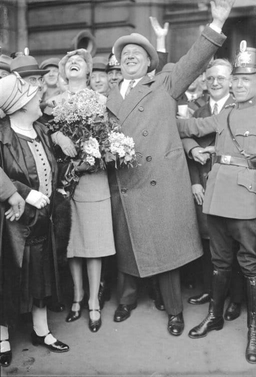 Rückkehr Emil Jannings aus Amerika 1929