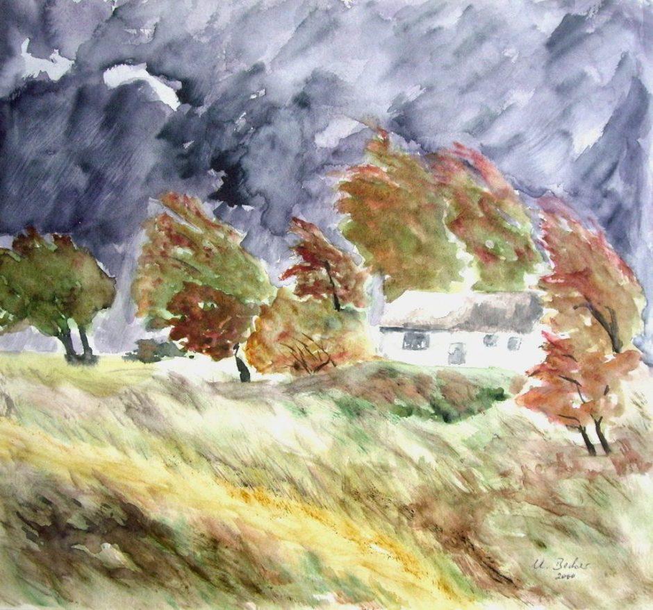 Herbst Sturm