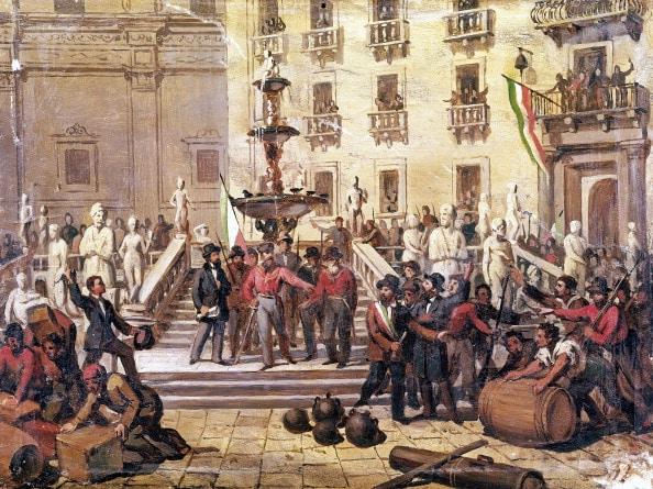 Garibaldi in Palermo