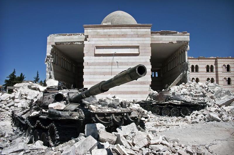 Kriegsschauplatz Syrien
