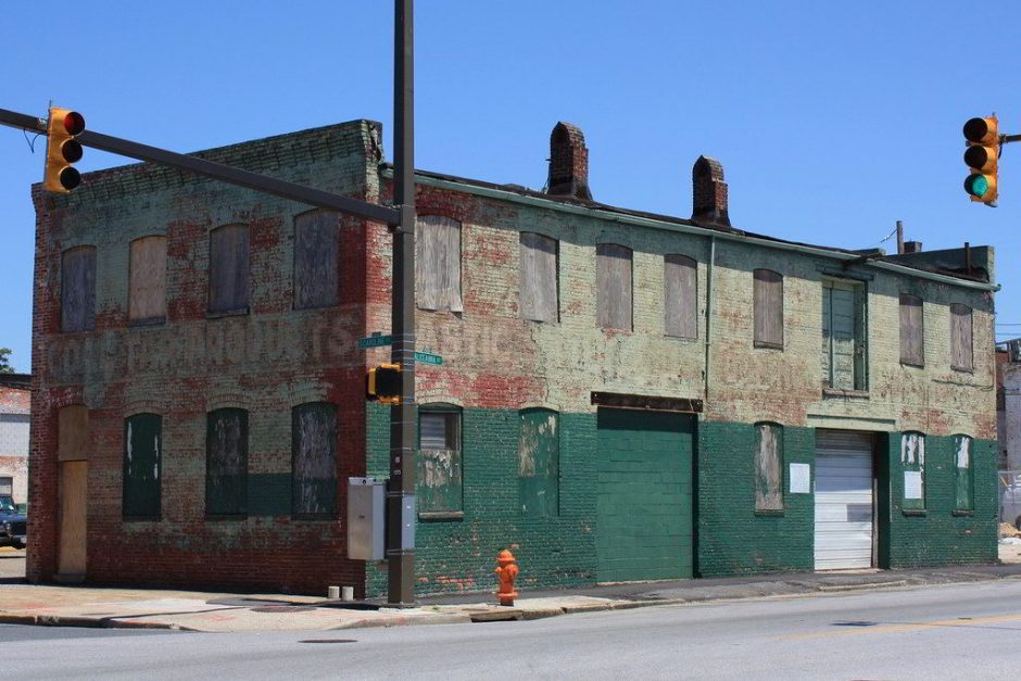 Old building in Baltimore