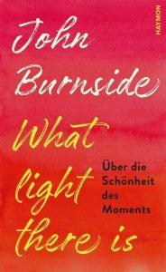 John Burnside, Bernhard Robben What light there is Über die Schönheit des Moment