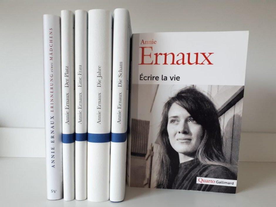 Bücher von Annie ERnaux, Die Scham
