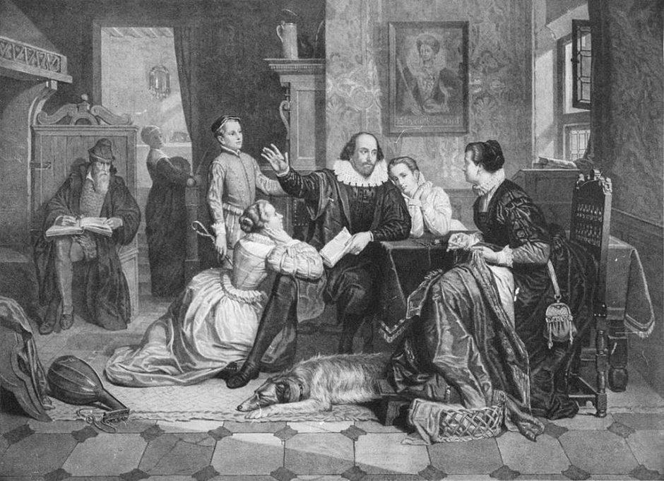 Shakespeares Familie