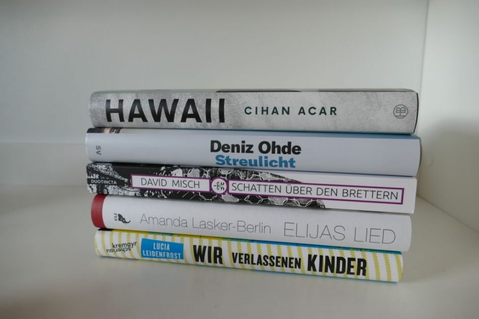 Shortlist Bloggerpreis Das Debüt 2020