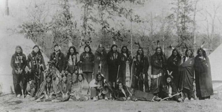 Lakota Indianer