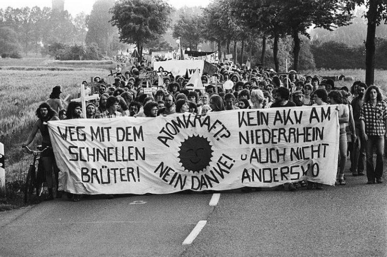 Demonstration Kalkar 1979