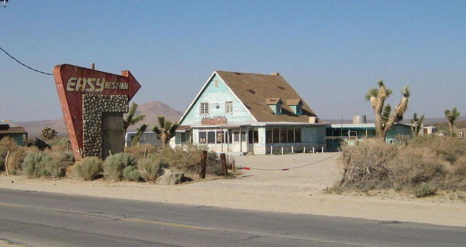 Diner Mojave Wüste