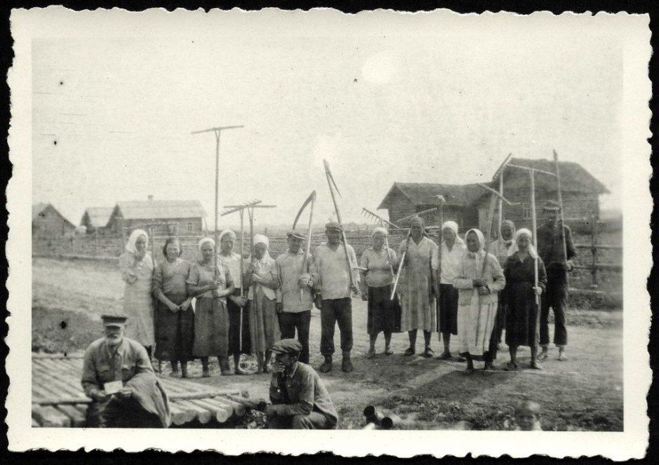 Russisches Dorf 1940