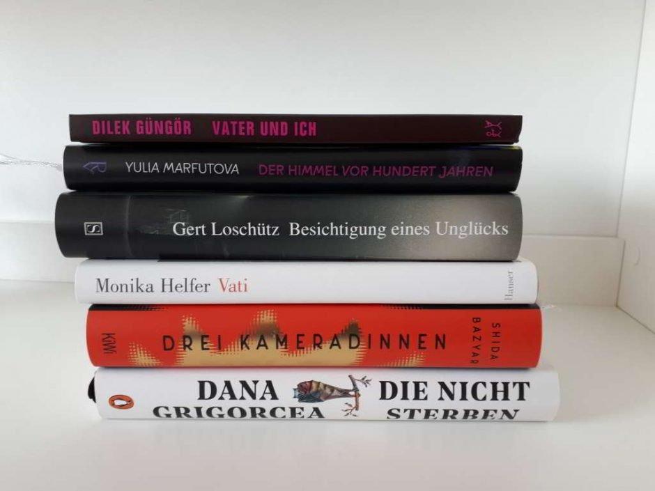 Deutscher Buchpreis - Longlist 2021